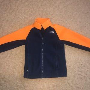 the North Face boys fleece jacket